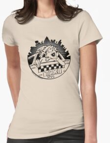 Taxi Girl Womens Fitted T-Shirt