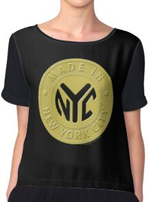 Made In New York Chiffon Top