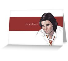 Sirius Greeting Card