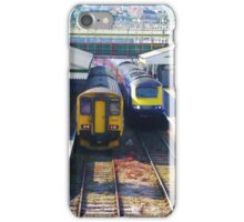 Coming And Going - Paignton Railway Station iPhone Case/Skin