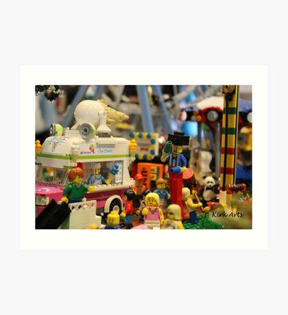 Lego City Art Print