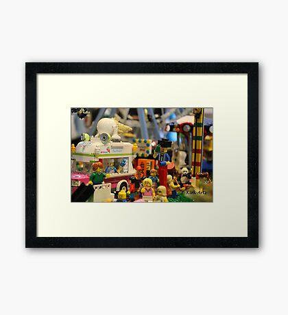 Lego City Framed Print
