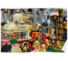 Lego City Poster