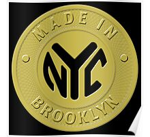 Made In New York Brooklyn Poster