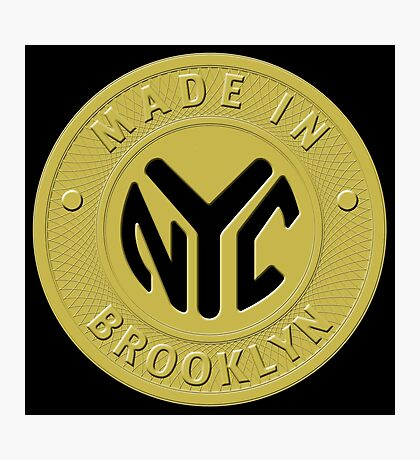 Made In New York Brooklyn Photographic Print