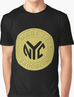 Made In New York Brooklyn Graphic T-Shirt