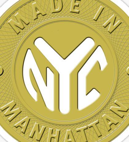 Made In New York Manhattan Sticker