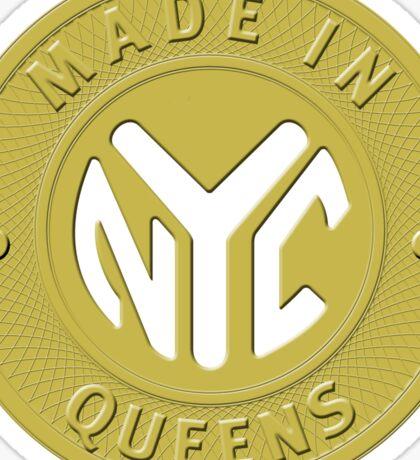 Made In New York Queens Sticker