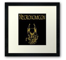 H.P. Lovecraft - Necronomicon Framed Print