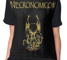 H.P. Lovecraft - Necronomicon Chiffon Top