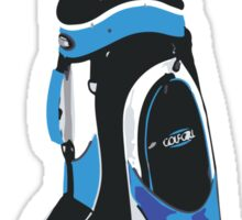 blue clubs Sticker
