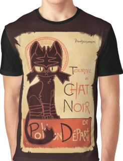 Litten Noir Graphic T-Shirt