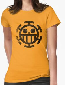 One Piece - Law (dirty style) Womens Fitted T-Shirt
