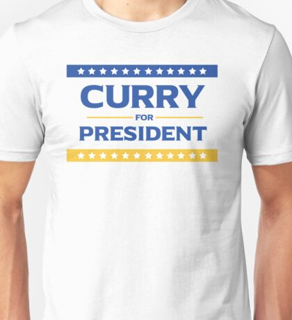Curry for President Unisex T-Shirt