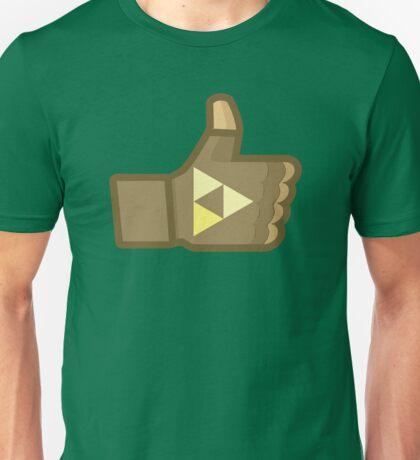 Link Likes Unisex T-Shirt