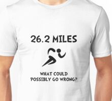 Marathon Go Wrong Unisex T-Shirt