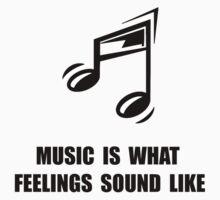 Music Feelings One Piece - Short Sleeve