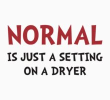 Normal Dryer Baby Tee
