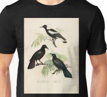 Bilder atlas zur Wissenschaftlich populären Naturgeschichte der Vögel in ihren sämmtlichen Hauptformen Leopold Joseph Fitzinger 1864 050 Unisex T-Shirt
