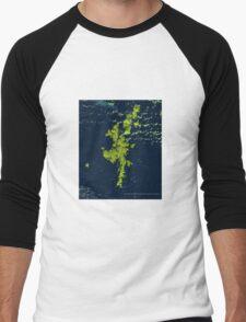 Shetland Islands Men's Baseball ¾ T-Shirt