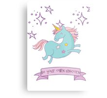 Be Your Own Unicorn Metal Print