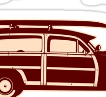 Big Woodie Smalls Longboards Sticker