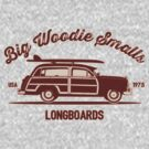 Big Woodie Smalls Longboards by AngryMongo