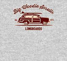Big Woodie Smalls Longboards Unisex T-Shirt