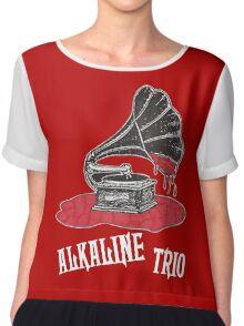 alkaline trio Chiffon Top
