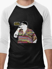 Respect The Rhyme BIG Men's Baseball ¾ T-Shirt