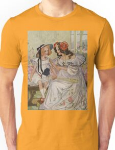 Vintage famous art - Dorothy And The Wizard Of Oz  - Now I Begin To Understand,  Said The Princess Unisex T-Shirt