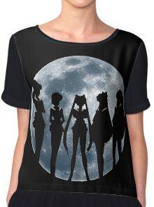 Sailor Moon Silhouettes Women's Chiffon Top