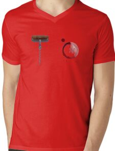 Screw It!  Red wine will fix it! Mens V-Neck T-Shirt