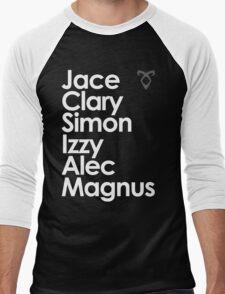 Shadowhunters of New York (& Magnus Bane) Men's Baseball ¾ T-Shirt