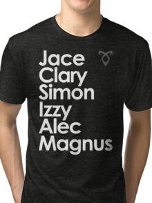 Shadowhunters of New York (& Magnus Bane) Tri-blend T-Shirt