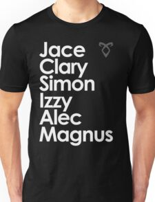 Shadowhunters of New York (& Simon Lewis and Magnus Bane) Unisex T-Shirt