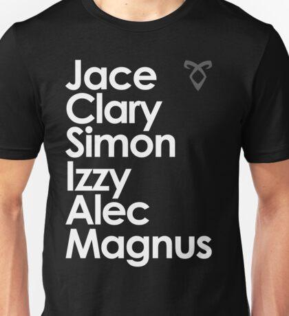 Shadowhunters of New York (& Simon Lewis and Magnus Bane) Unisex T-Shirt