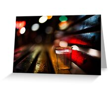 fiesta of the night  Greeting Card