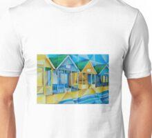 Southwold Beach Huts Unisex T-Shirt