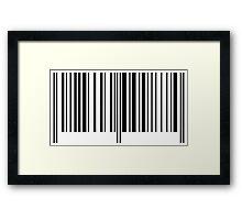BarCode Framed Print