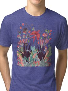 Spring Bird  Tri-blend T-Shirt