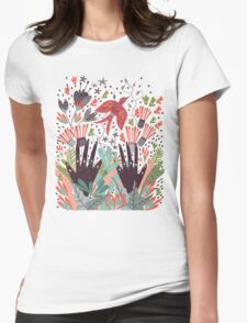 Spring Bird  Womens Fitted T-Shirt