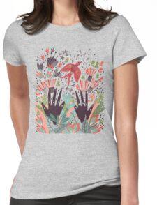 Spring Bird  Womens Fitted T-Shirt
