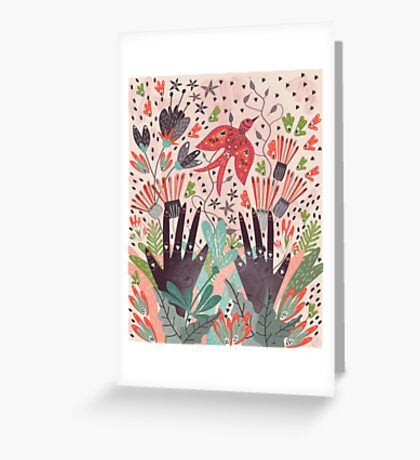 Spring Bird  Greeting Card