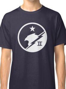 Blue Team White Classic T-Shirt