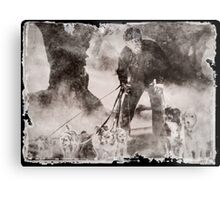 Wolfman Dog Walker ( 2) Metal Print