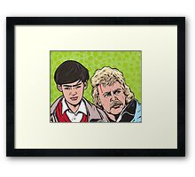 Troy and Zap Rowsdower Framed Print