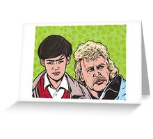 Troy and Zap Rowsdower Greeting Card