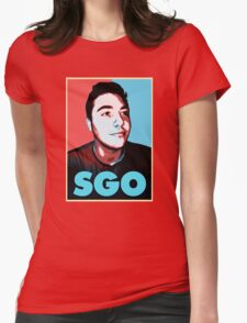 Sgo Rick Womens Fitted T-Shirt