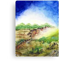 In the Valley Below Canvas Print